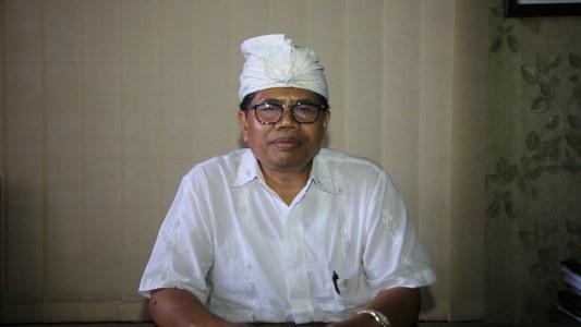 Ket foto : Bendesa Madya MDA Kota Denpasar, AA Ketut Sudiana