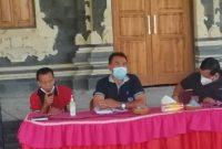 Kepala Lingkungan Tirta Kusuma Sutikno, Bersama Kepala Desa dan Camat Melaya