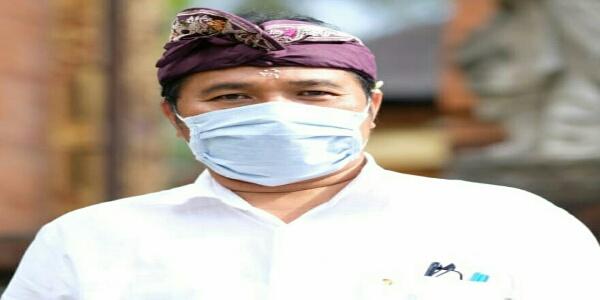 Ket foto : Juru Bicara Satgas Penanganan Covid-19 Kota Denpasar, I Dewa Gede Rai