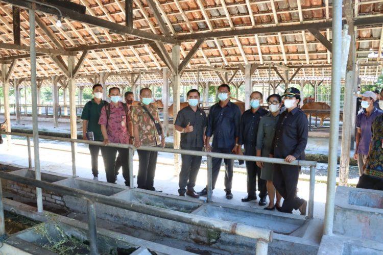 Ket poto : Komisi II DPRD Jembrana Sidak ke ATP Pangkung Tanah Kangin